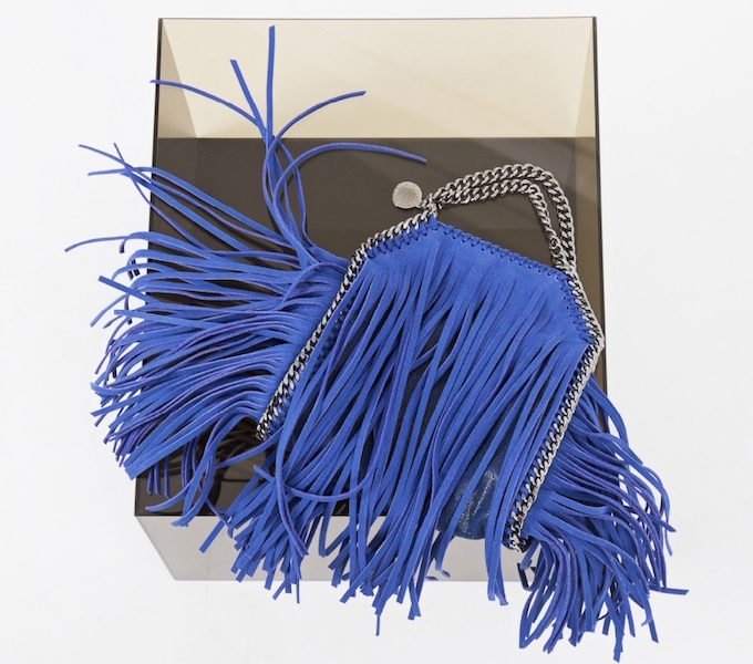 Stella McCartney Tiny Fringed Falabella Bag