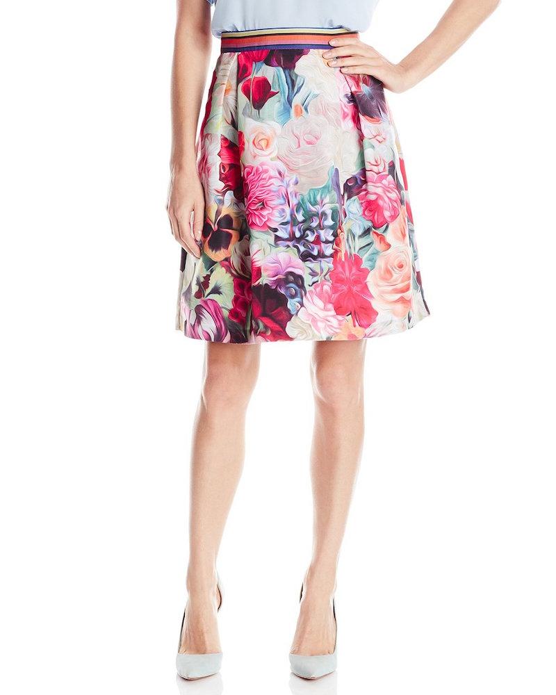 Ted Baker Kaideen Floral Swirl Mini Skirt