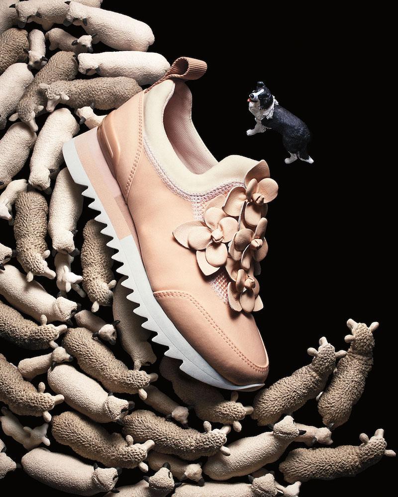 Tory Burch Blossom Neoprene Sneaker
