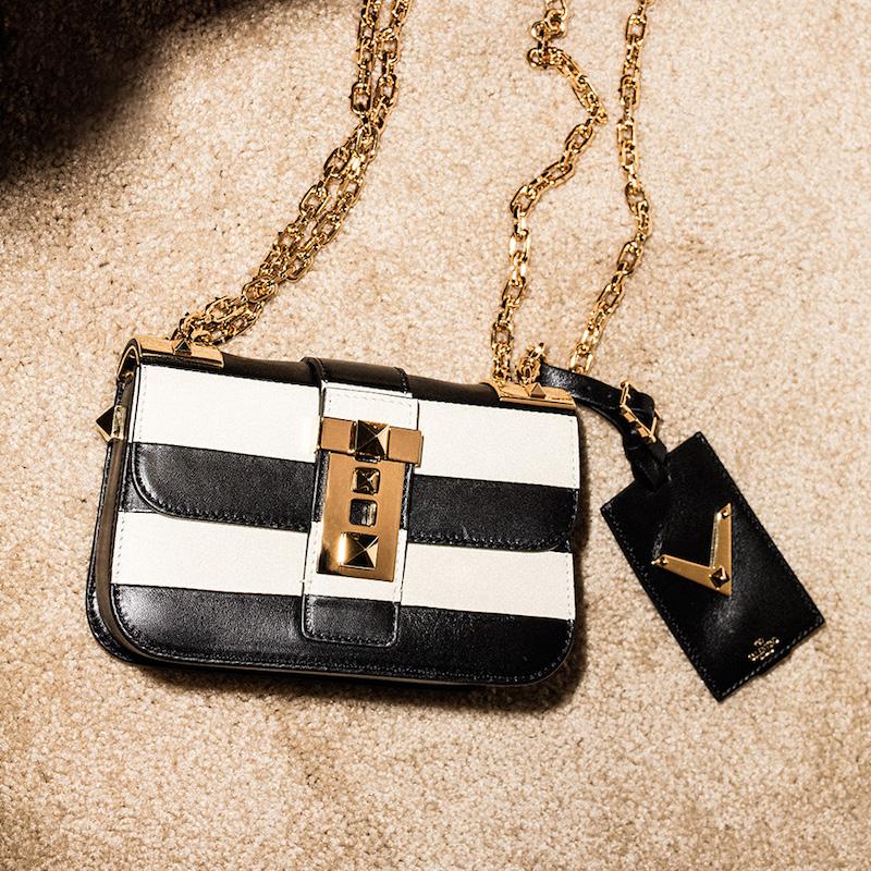 Valentino B-Rockstud Small Shoulder Bag
