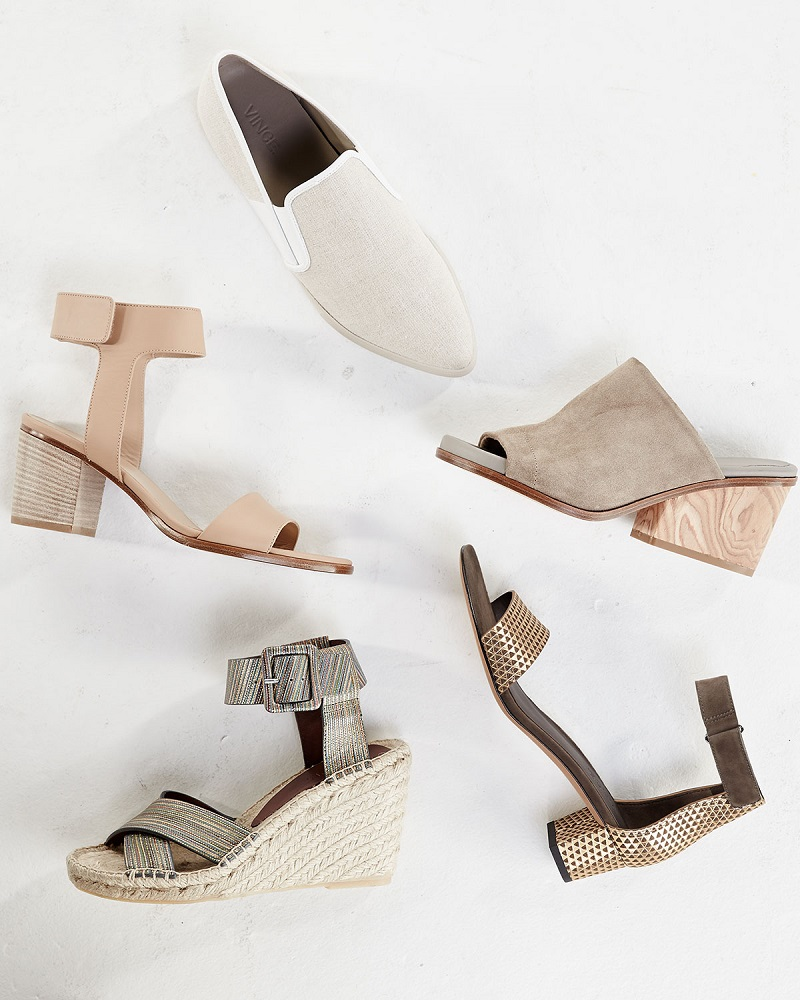 Vince Josslyn Leather City Sandal