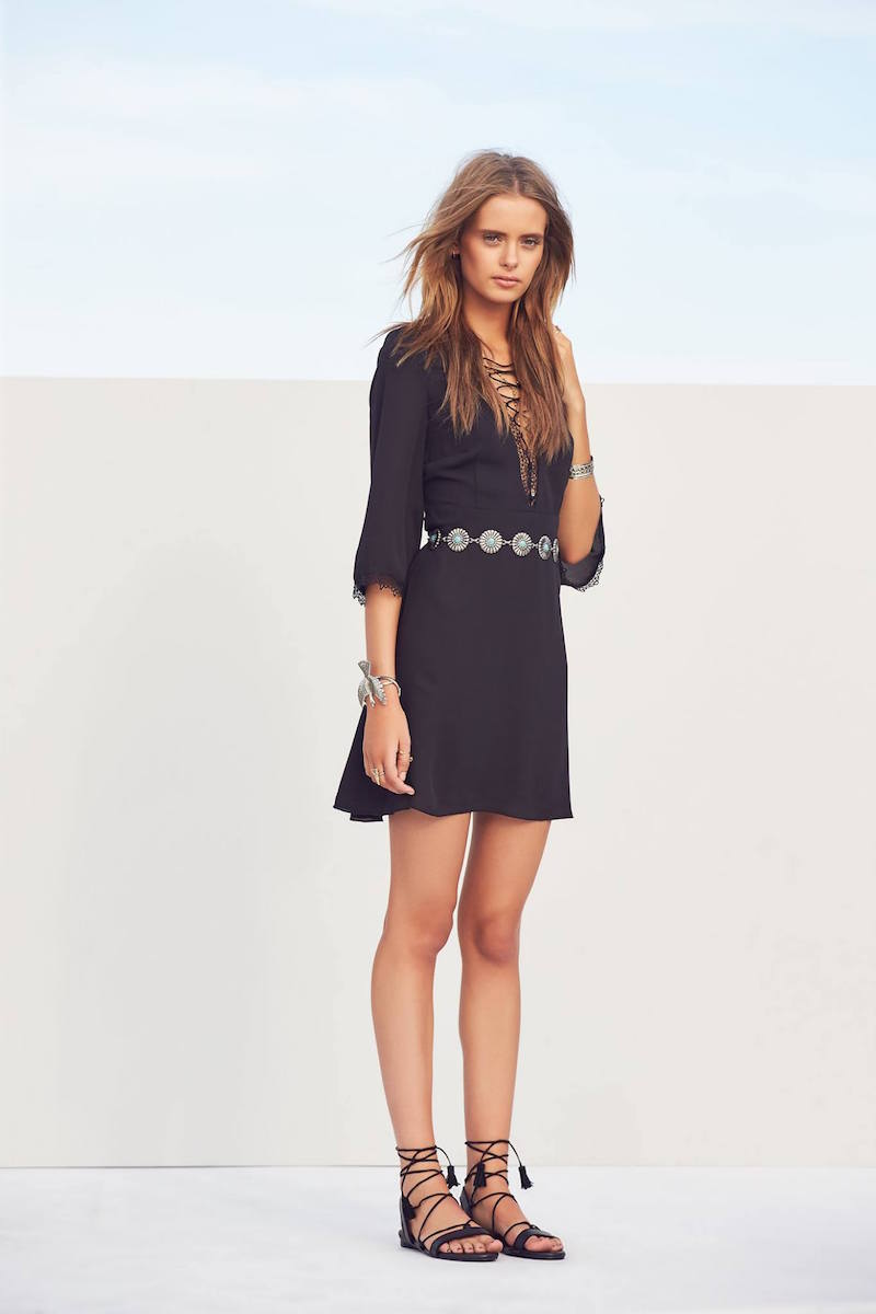 WYLDR Cardinia Lace Trim Dress