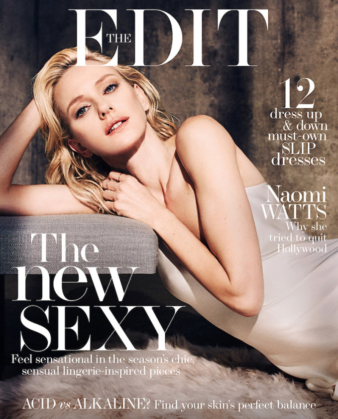 What Lies Beneath: Naomi Watts for The EDIT