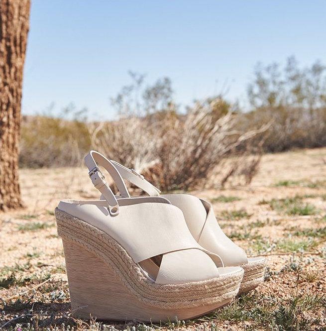 alice + olivia Lia Wedge Sandals