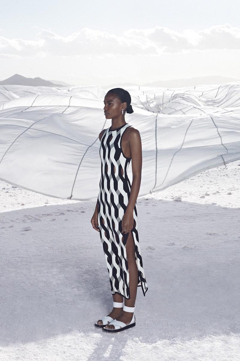 rag & bone Olympia Cutout Dress
