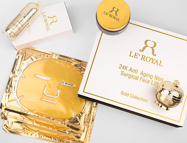 90 Off LE' ROYAL 24K Gold Collection at MyHabit