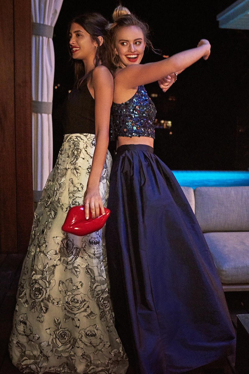 Adrianna Papell Embellished Two-Piece Ballgown_1