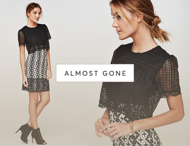 Almost Gone Clothing by Sizes at MyHabit