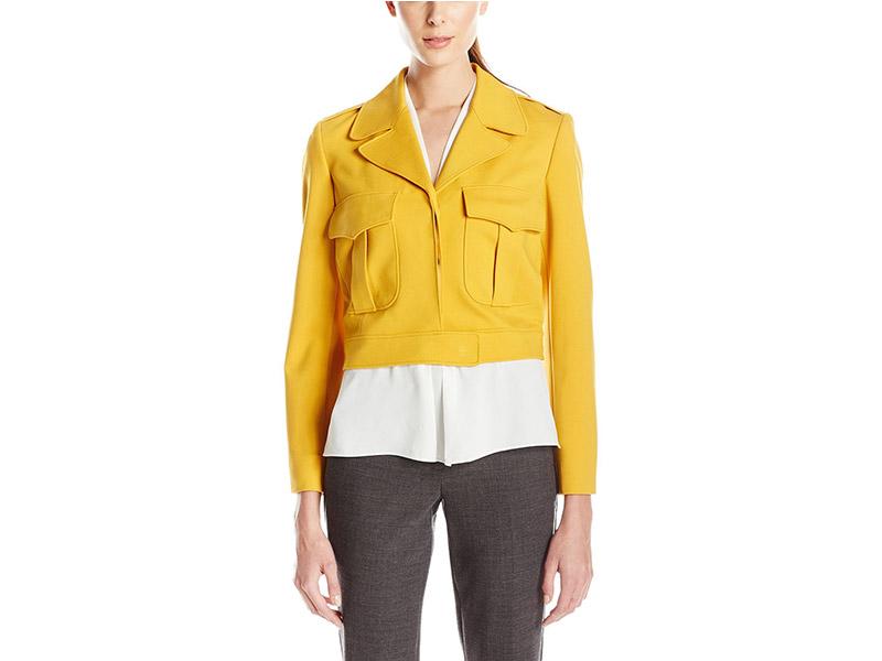 Anne Klein Two Pocket Ponte Jacket