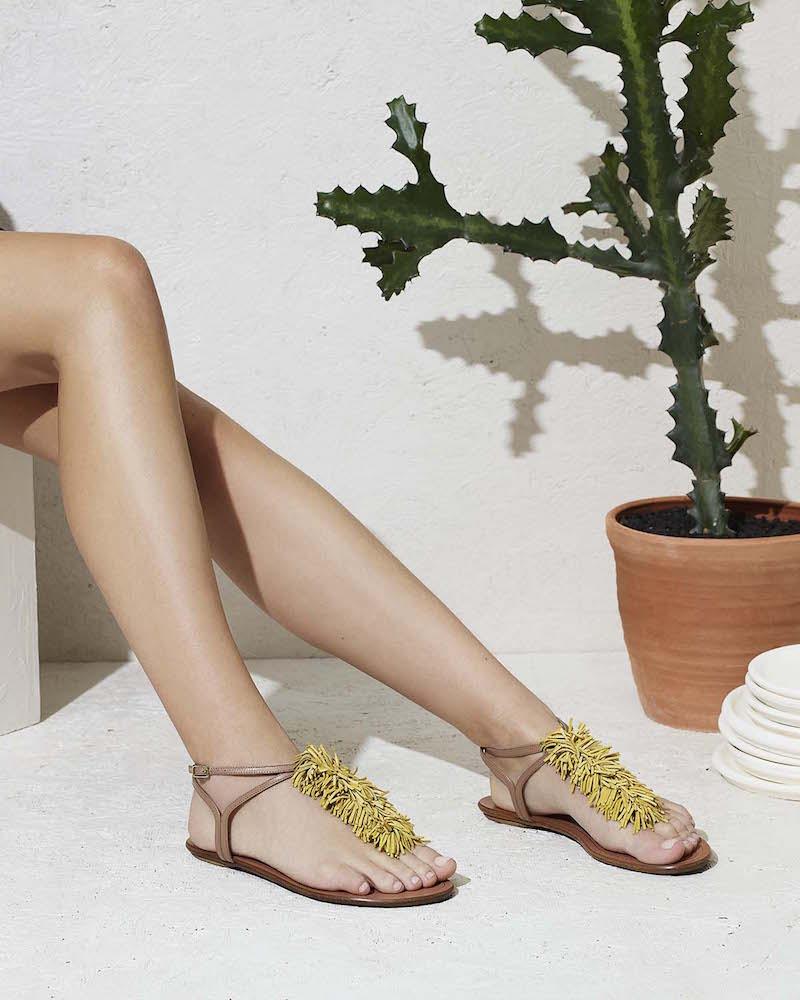 Aquazzura Wild Thing T-Strap Sandals