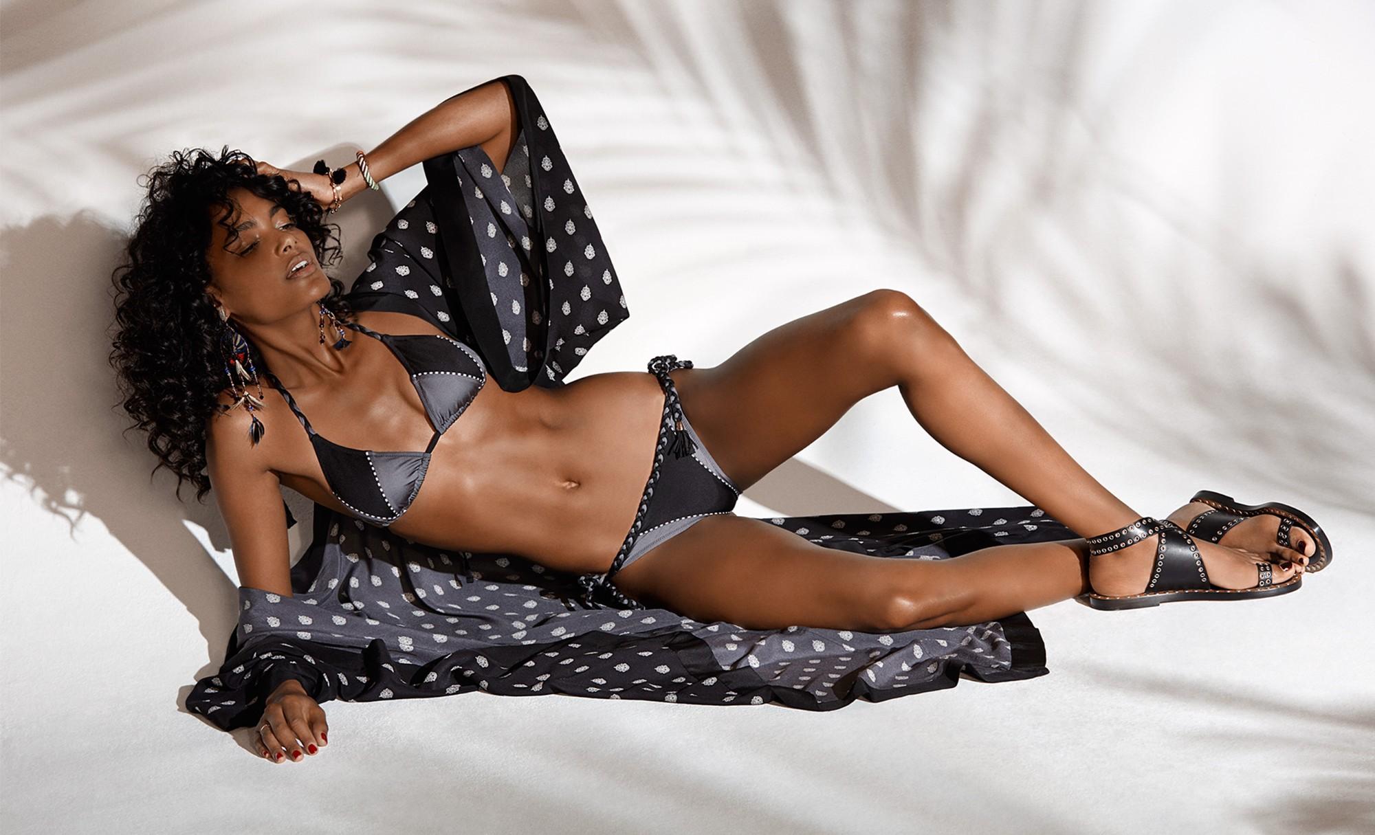 Athena Procopiou Voodoo silk kimono cover-up