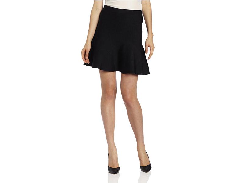 BCBGMAXAZRIA Ingrid Flared Skirt