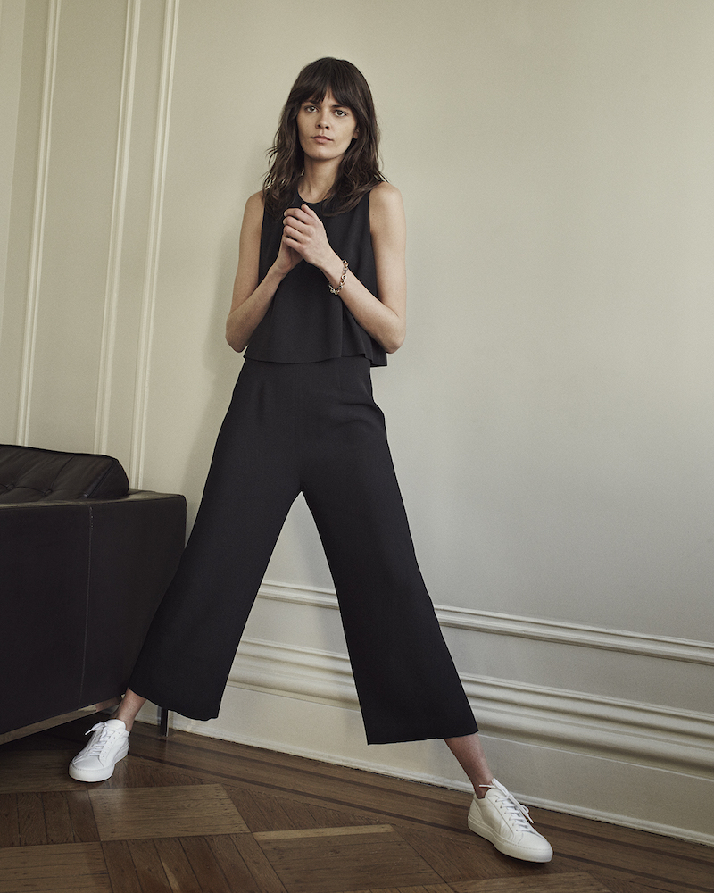 Barneys New York Cady Layered-Look Jumpsuit