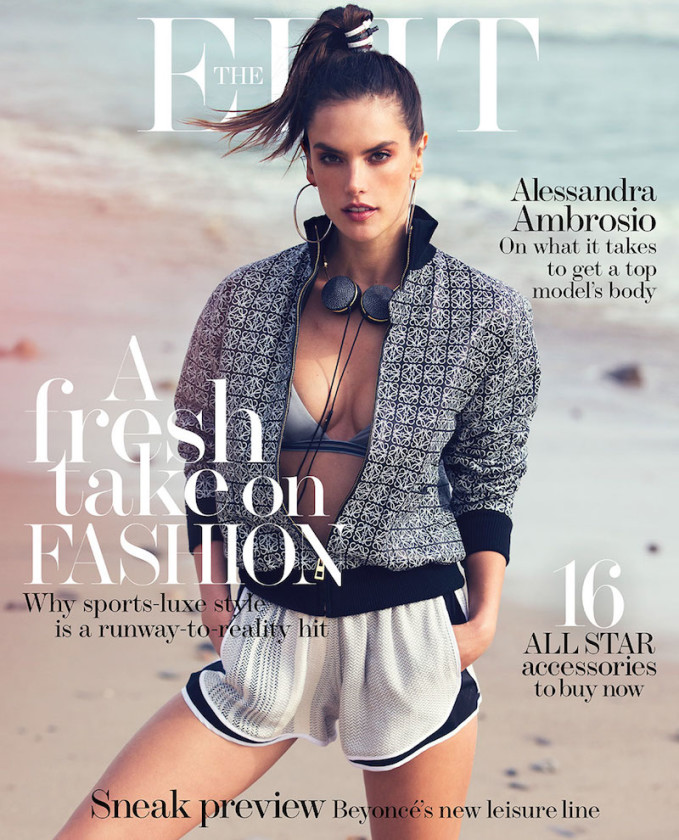 Body of Work: Alessandra Ambrosio for The EDIT