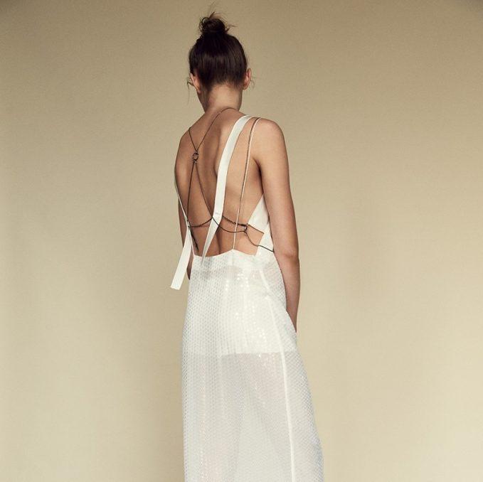 Calvin Klein Collection Gavis Evening Dress -