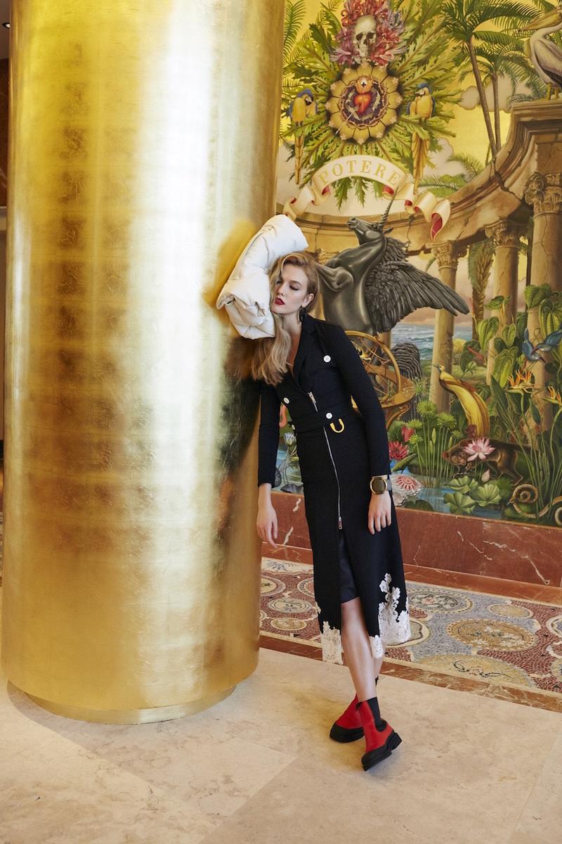 Céline Lace-hem Coat