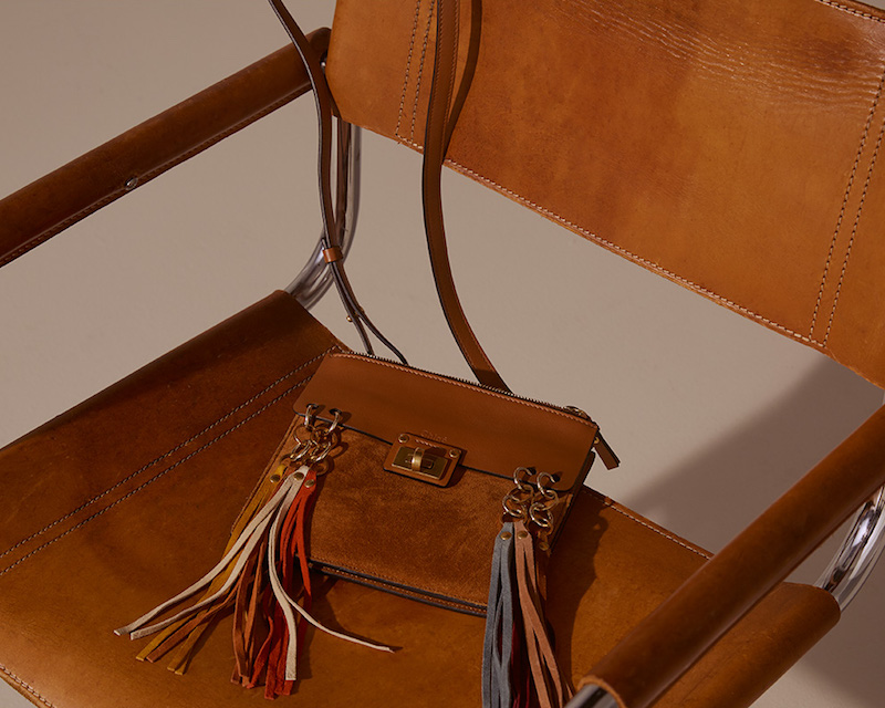 Chloé Jane Fringed Leather Cross-body Bag