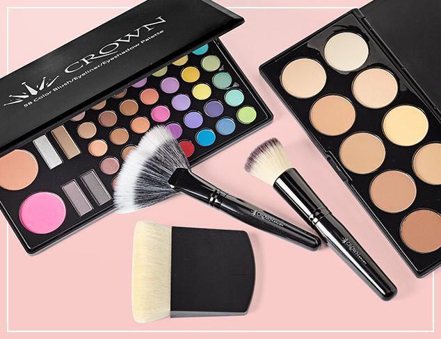 Crown Brush Makeup Palettes at MYHABIT