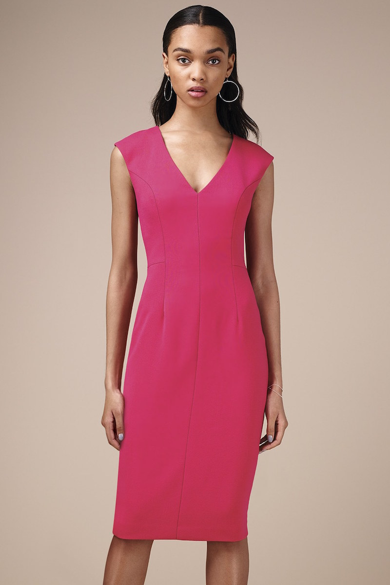 Eliza J Crepe Sheath Dress