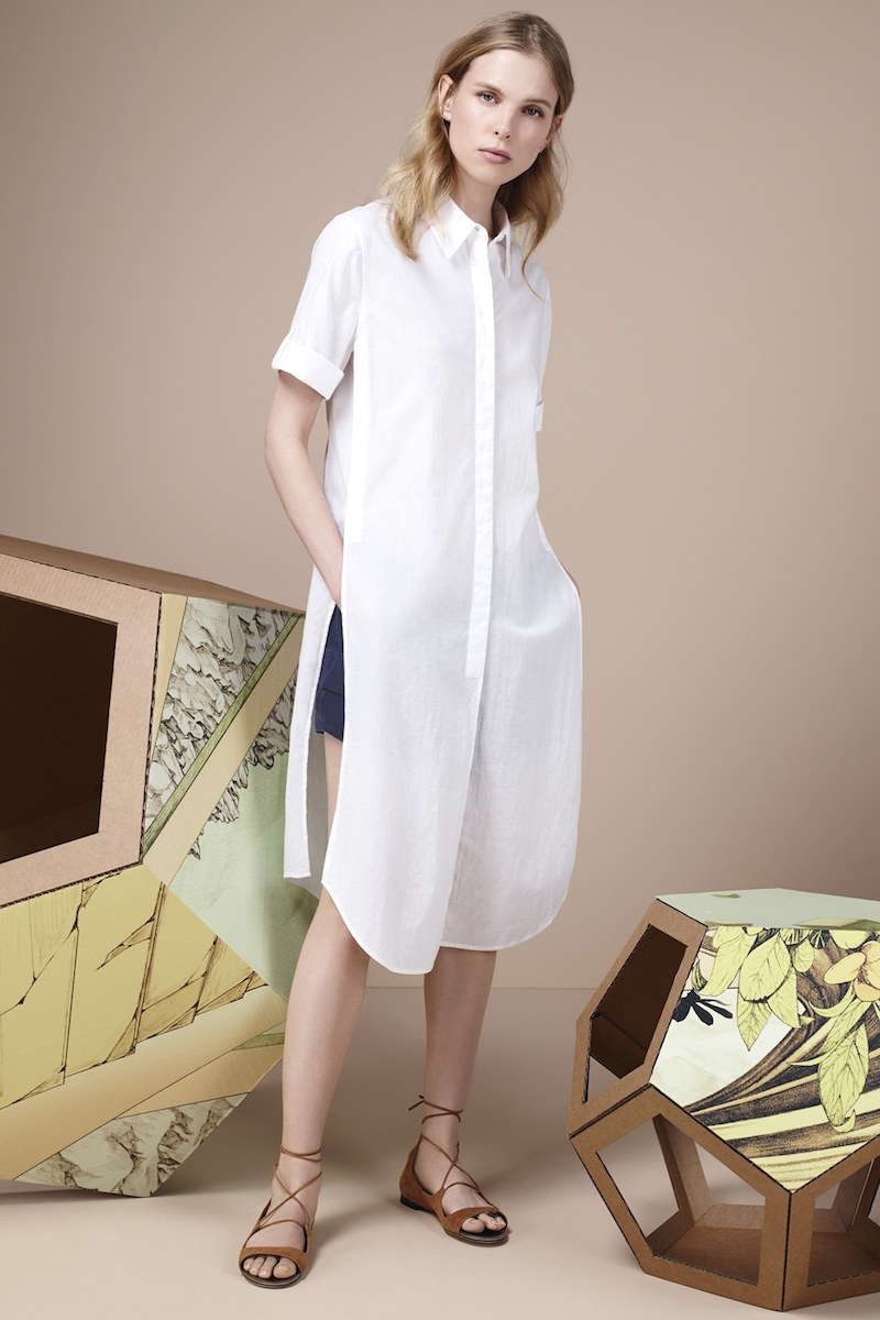 Equipment Pascal Short Sleeve Tunic