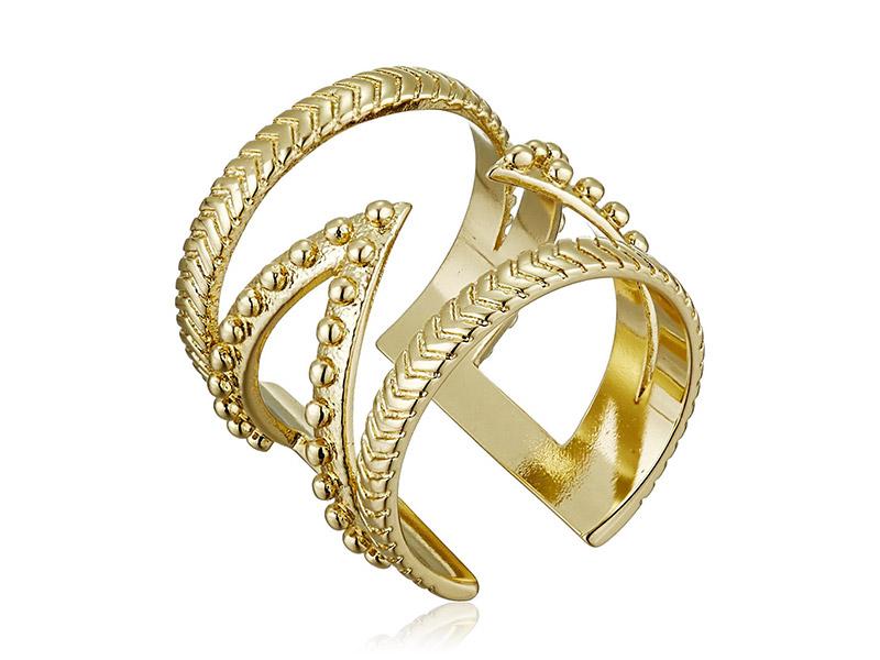 Ettika Power Wrap Gold Adjustable Ring
