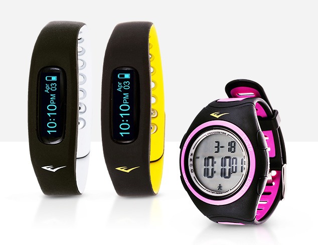 Everlast Fitness Trackers at MyHabit