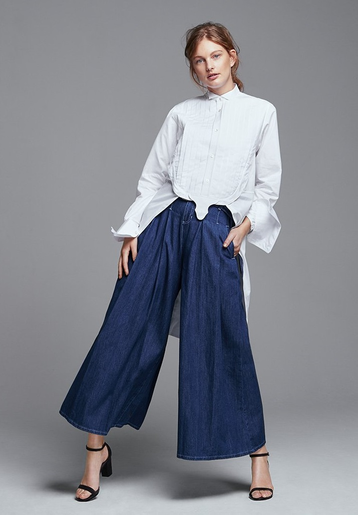 Faith Connexion Tailcoat Shirt