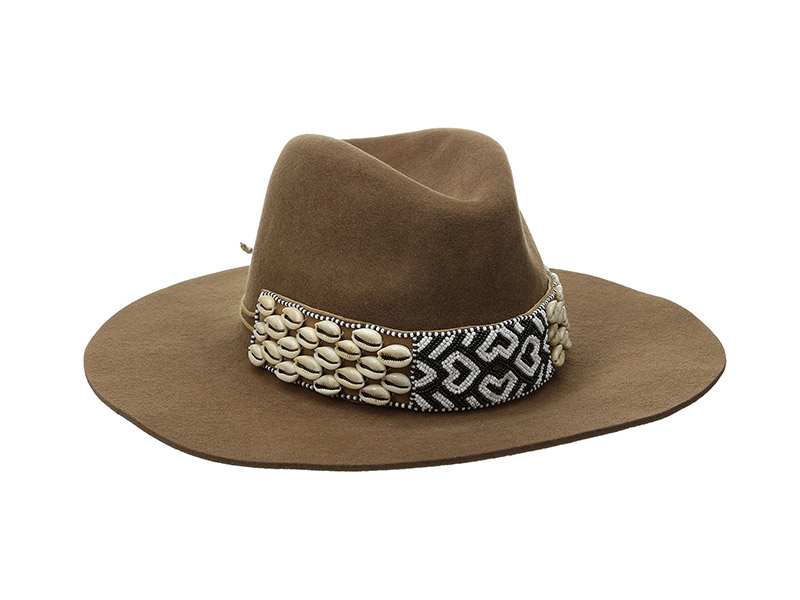 Gottex Seri Felt Hat with Beaded Band