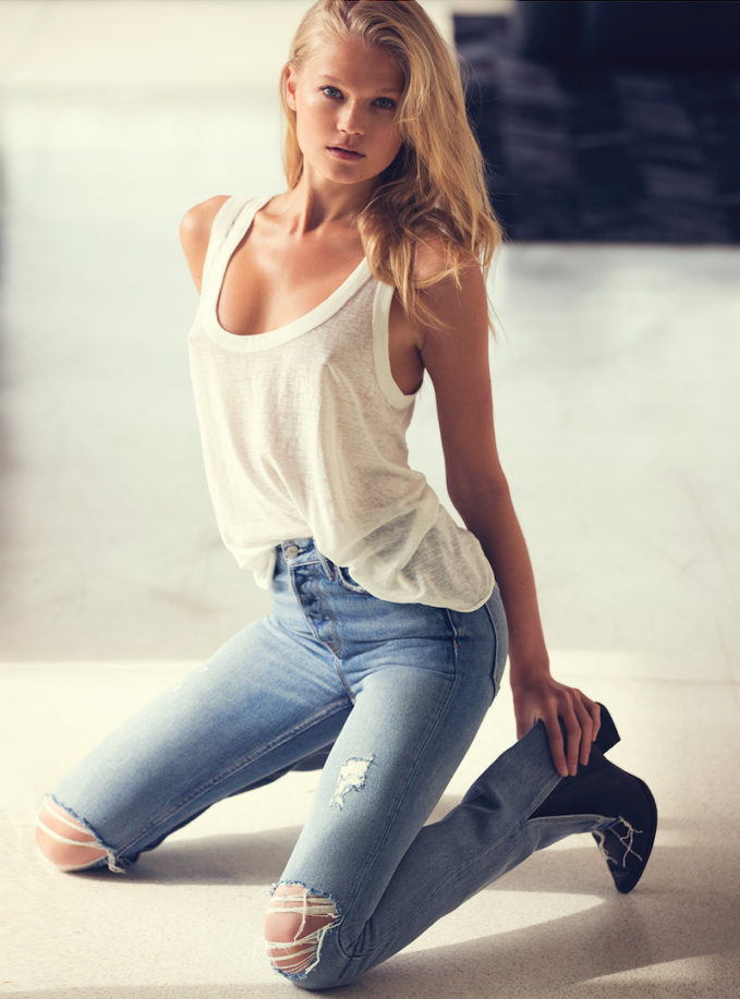 Grlfrnd Natalia High-Rise Skinny Jeans