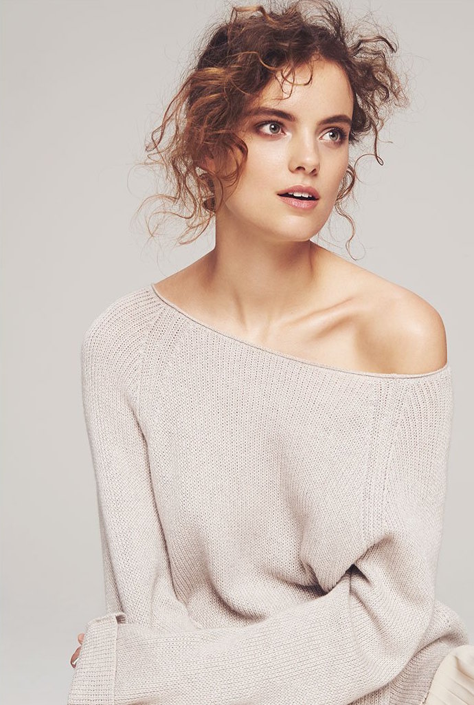 Helmut Lang Cashmere Cotton Pullover