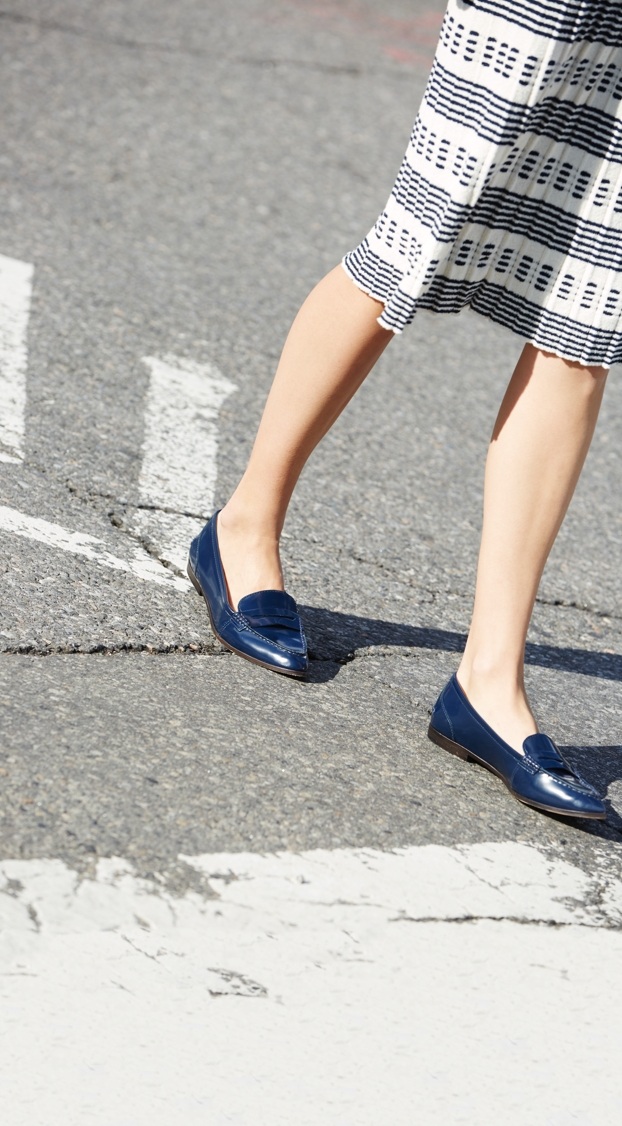 J.Crew Collins leather loafers