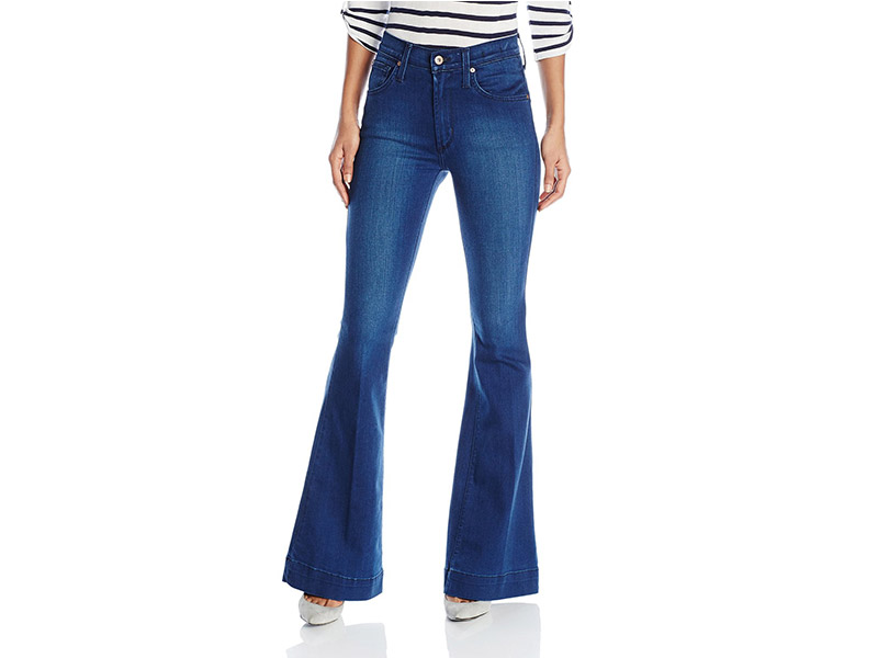 James Jeans Shayebel High Rise Flare In Retro