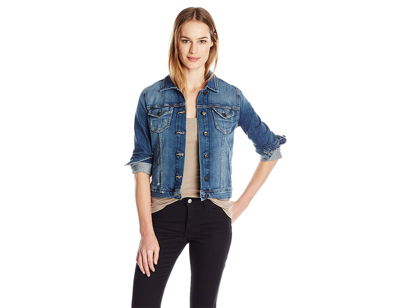 Joe's Jeans Crop Jean Denim Jacket In Myla