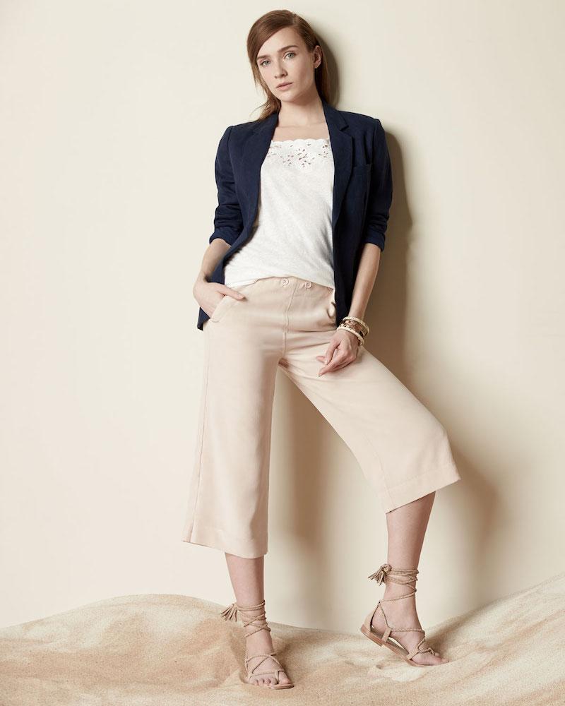 Joie Mehira Open-Front Linen Jacket