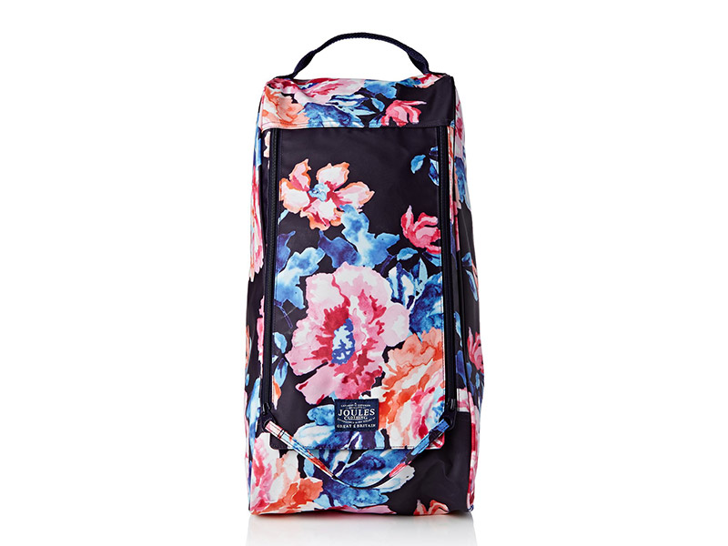 Joules Welland Printed Canvas Welly Bag
