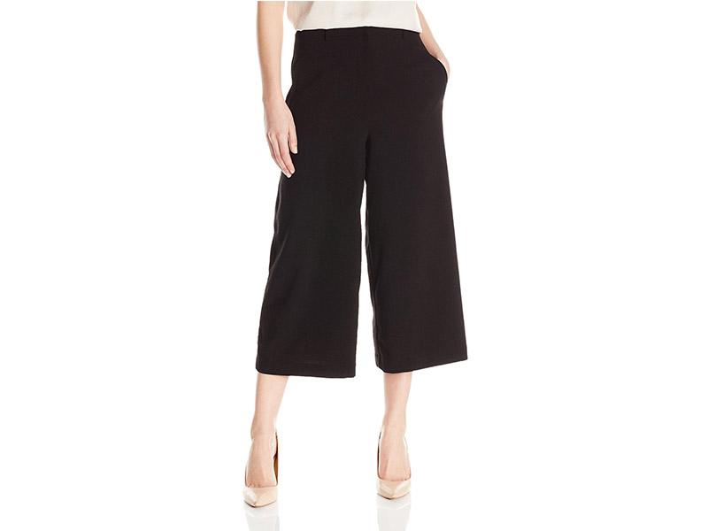 Lark & Ro Zip Front Cullot Pant