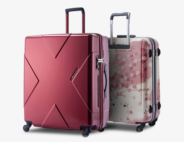 Luggage for the Design Savvy Traveler at MyHabit