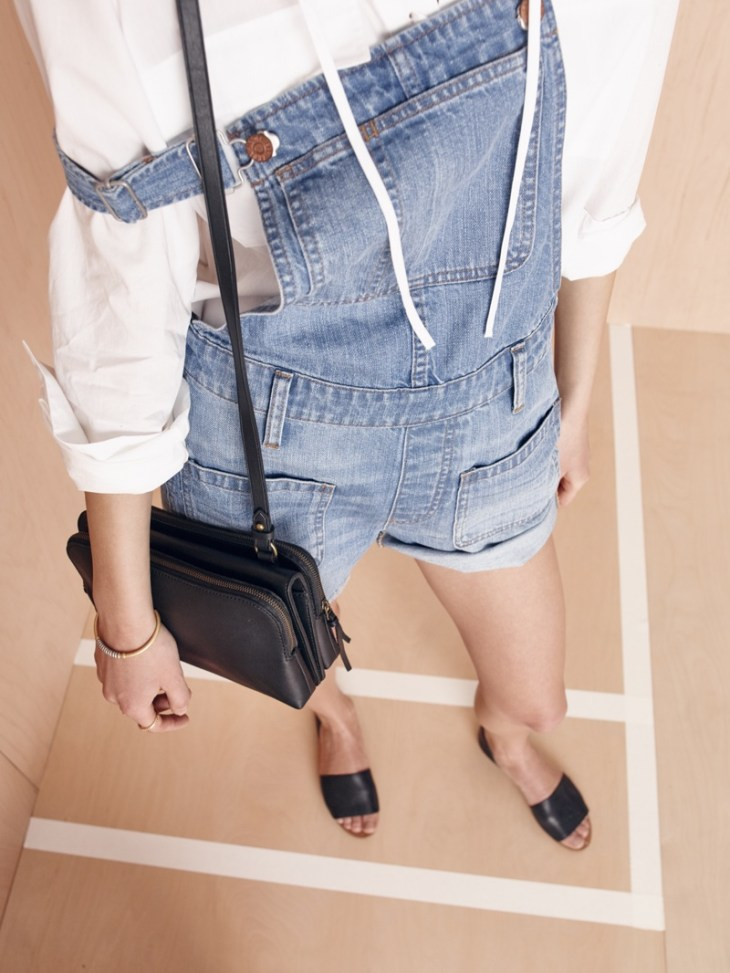 Madewell The Twin-Pouch Crossbody Bag