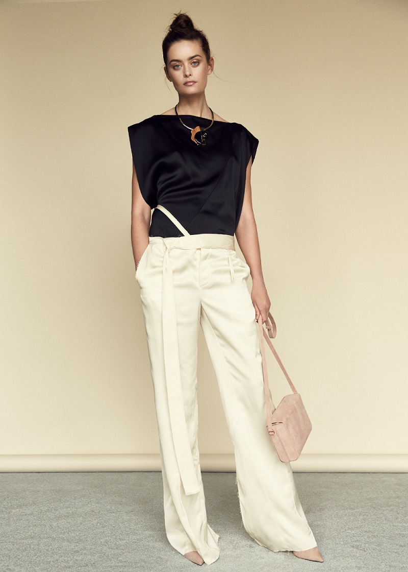 Marni Crepe Satin Top
