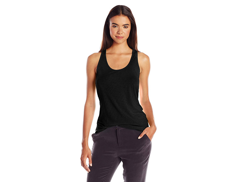 Michael Stars Racerback Scoop-Neck Tank Top