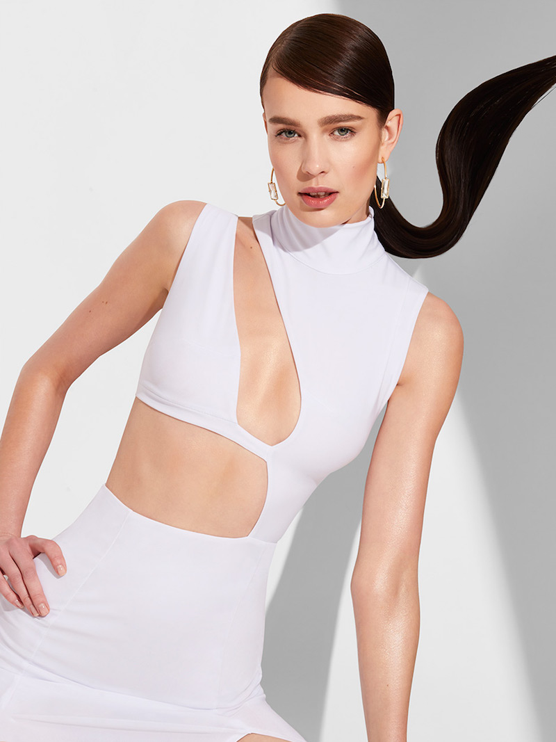Nasty Gal Cut Out Above the Rest Maxi Dress