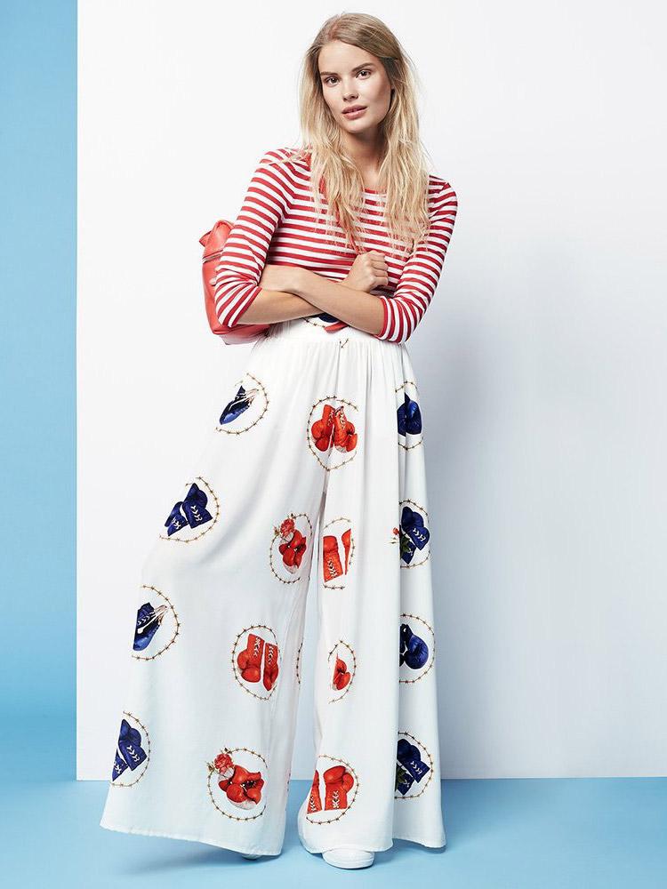Natasha Zinko Silk Pajama Trousers