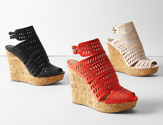 On the Rise Wedges at MyHabit