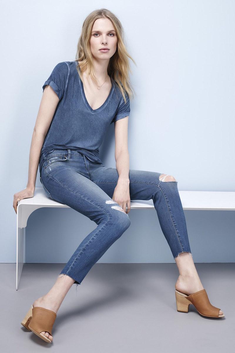 Paige Denim Transcend Verdugo Raw Hem Crop Ultra Skinny Jeans
