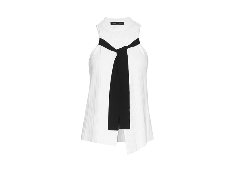 Proenza Schouler Pleated Crepe Top