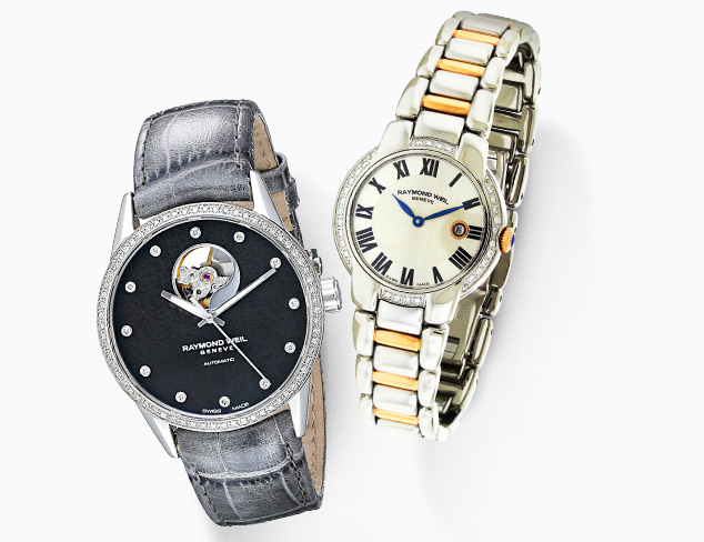 Raymond Weil Watches at MyHabit