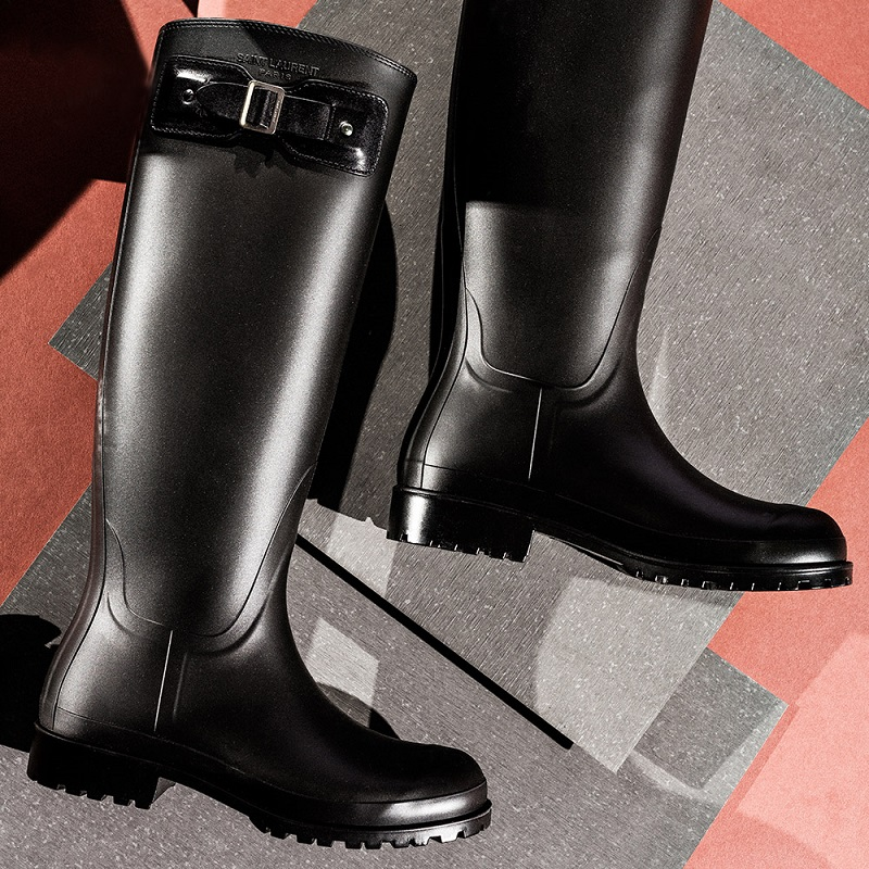 Saint Laurent Rubber Festival Boots