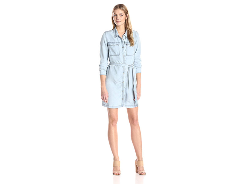 Sanctuary Clothing Croquet Denim Shirt Dress