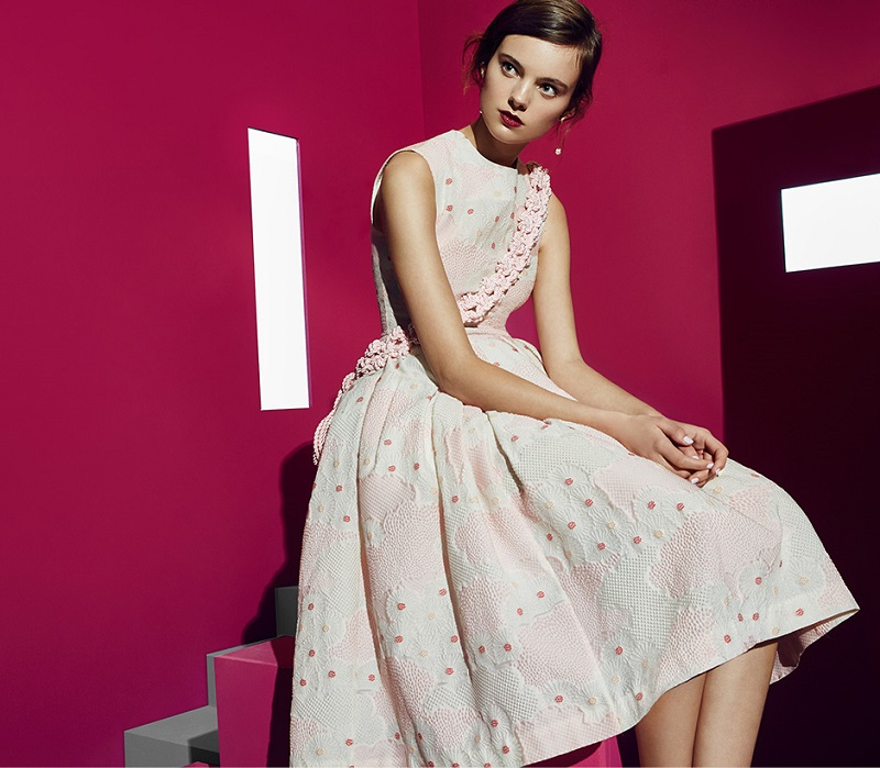 Simone Rocha Printed Bubble Dress