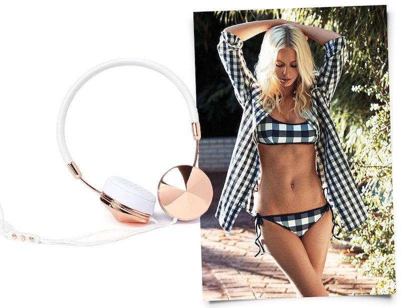 Solid & Striped Poppy Delevigne Tie Bikini Top